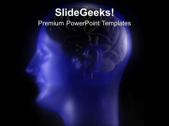 human brain is powerful powerpoint templates ppt backgrounds for