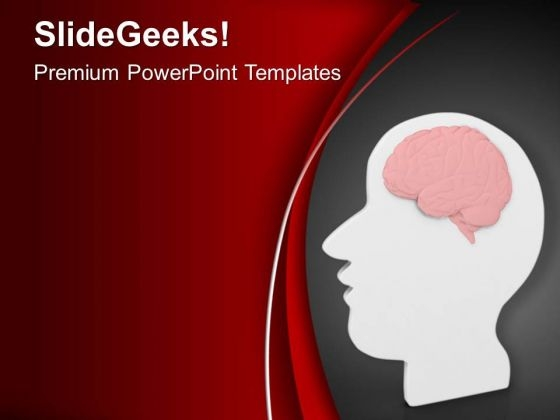 Human Brain Is Source Of Energy PowerPoint Templates Ppt Backgrounds For Slides 0613