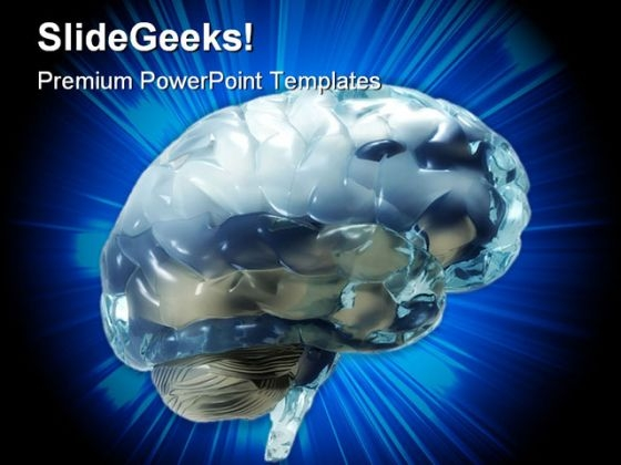 Human Brain Medical PowerPoint Themes And PowerPoint Slides 0711