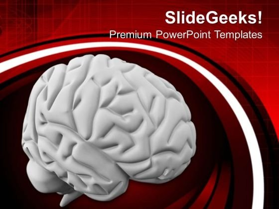 Human Mind Is A Subject Of Research PowerPoint Templates Ppt Backgrounds For Slides 0613