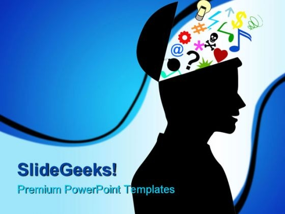 Human Mind Symbol PowerPoint Templates And PowerPoint Backgrounds 0211