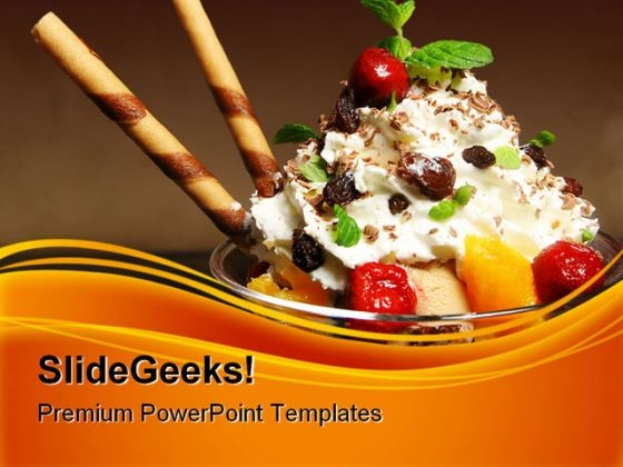 Ice Cream Food PowerPoint Themes And PowerPoint Slides 0311