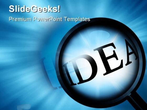 Idea Business PowerPoint Templates And PowerPoint Backgrounds 0511