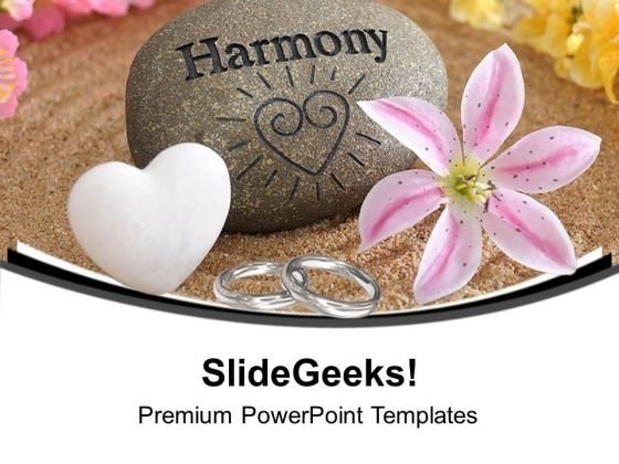 Image Of Love And Harmony PowerPoint Templates Ppt Backgrounds For Slides 0713