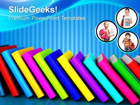 Importance Of Books Future PowerPoint Templates And PowerPoint Themes 0812