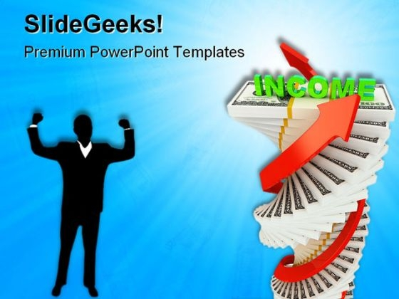 Income Growth Business PowerPoint Templates And PowerPoint Backgrounds 0611