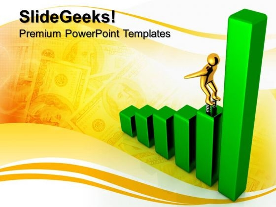 Income Growth Finance PowerPoint Templates And PowerPoint Themes 0712