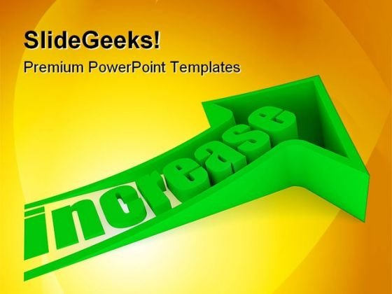 Increase Business PowerPoint Templates And PowerPoint Backgrounds 0211