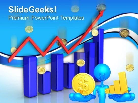 Increase In Sales Finance PowerPoint Templates And PowerPoint Themes 0612