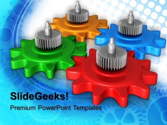 Industrial Gearwheels PowerPoint Templates And PowerPoint Themes 0512