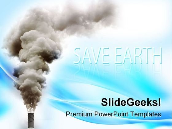 Industry Pollution Industrial PowerPoint Templates And PowerPoint Backgrounds 0211