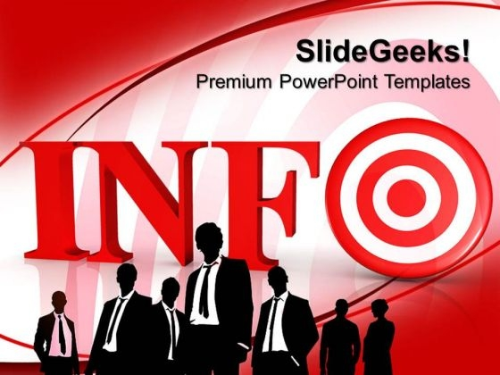 Info Target Business PowerPoint Templates And PowerPoint Themes 0612