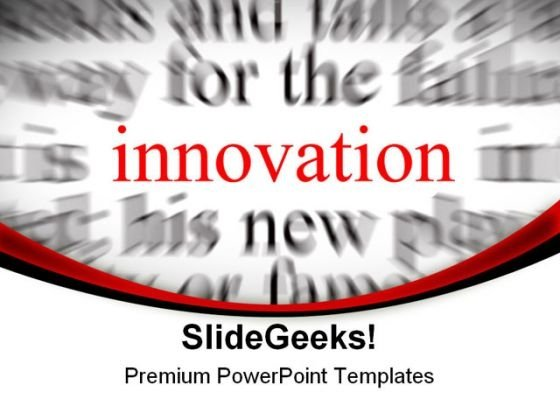 Innovation Background PowerPoint Themes And PowerPoint Slides 0711