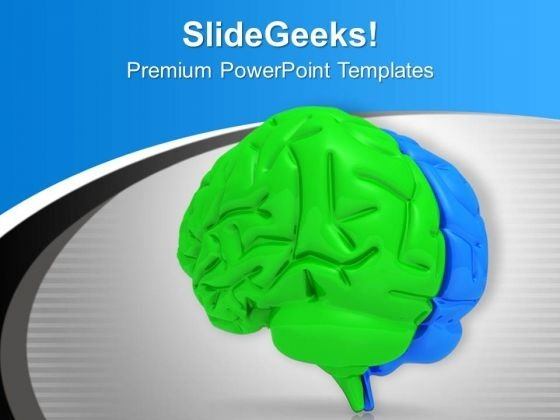 Innovative Thinking Brain PowerPoint Templates Ppt Backgrounds For Slides 0313