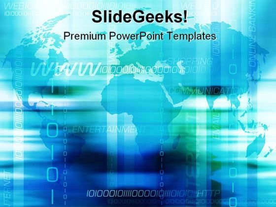 Internet Background PowerPoint Backgrounds And Templates 1210