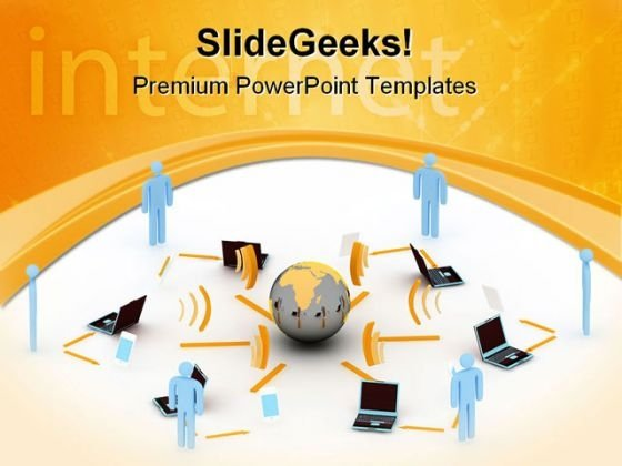 Internet Concept01 Global PowerPoint Templates And PowerPoint Backgrounds 0711