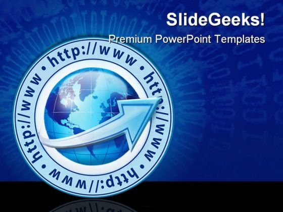 Internet Growth Global PowerPoint Templates And PowerPoint Backgrounds 0311