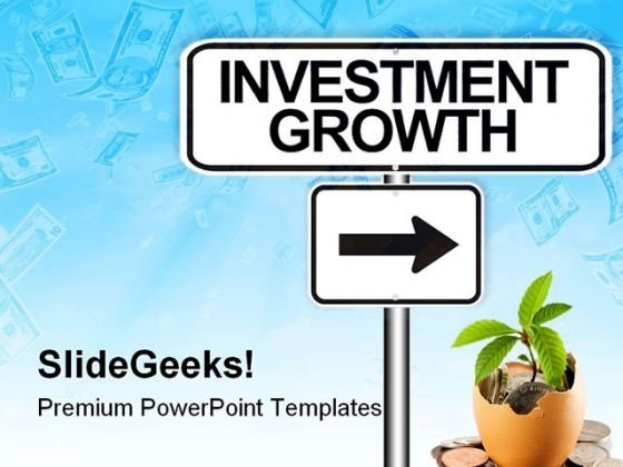 Investment Growth Money PowerPoint Templates And PowerPoint Backgrounds 0811