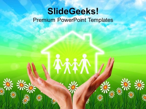 Investment Money For Good House PowerPoint Templates Ppt Backgrounds For Slides 0613