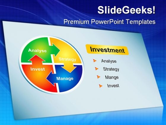 Investment Strategy Business PowerPoint Templates And PowerPoint Backgrounds 0211