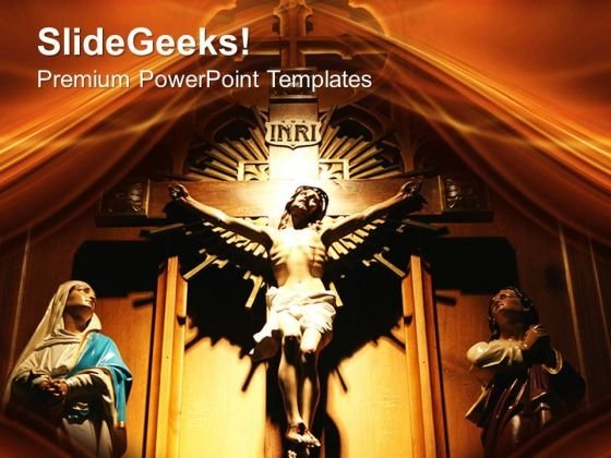 Jesus Christ PowerPoint Templates And PowerPoint Themes 0712