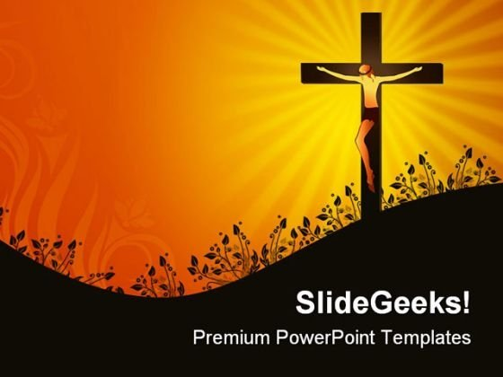 Jesus Christ Religion PowerPoint Themes And PowerPoint Slides 0211