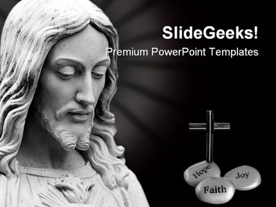Jesus Religion PowerPoint Templates And PowerPoint Backgrounds 0711