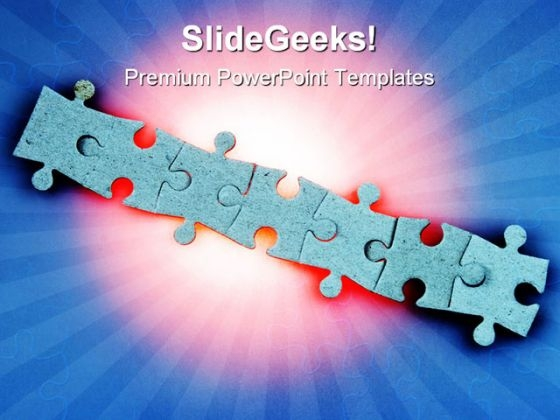 Jigsaw Puzzles Communication PowerPoint Templates And PowerPoint Backgrounds 0711