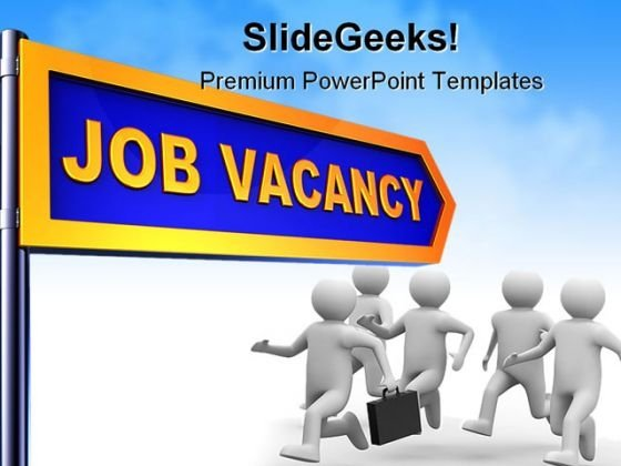 Job Vacancy Business PowerPoint Backgrounds And Templates 1210