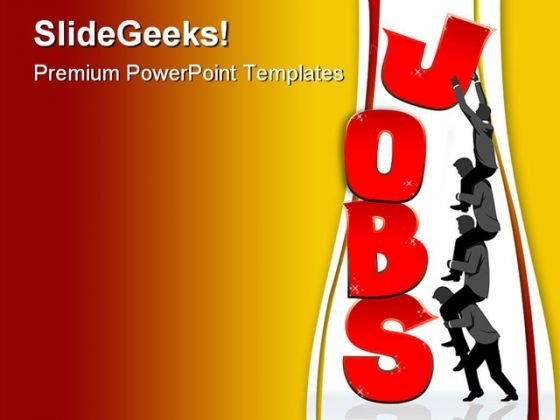 Jobs Business PowerPoint Themes And PowerPoint Slides 0511