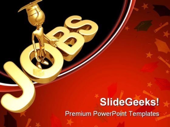 Jobs Future PowerPoint Themes And PowerPoint Slides 0711