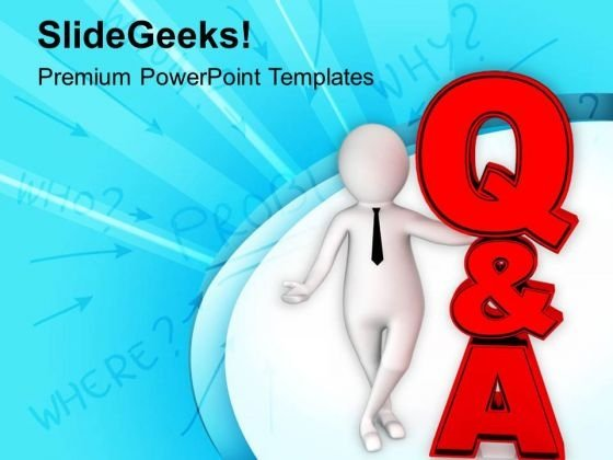 Join Question And Answer Session PowerPoint Templates Ppt Backgrounds For Slides 0813