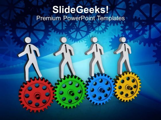 Join The Business Race For Success PowerPoint Templates Ppt Backgrounds For Slides 0413