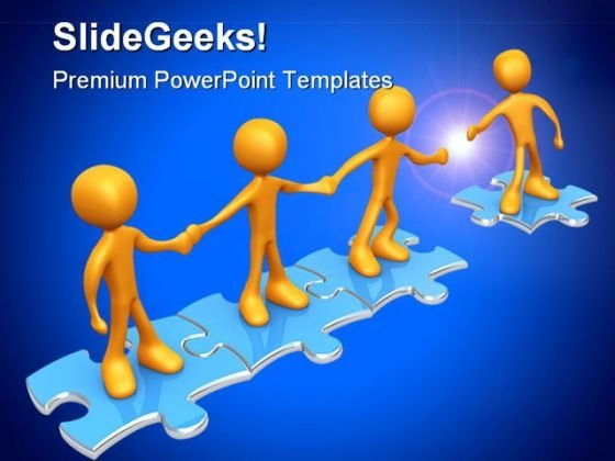 Join Us Team Business PowerPoint Templates And PowerPoint Backgrounds 0811