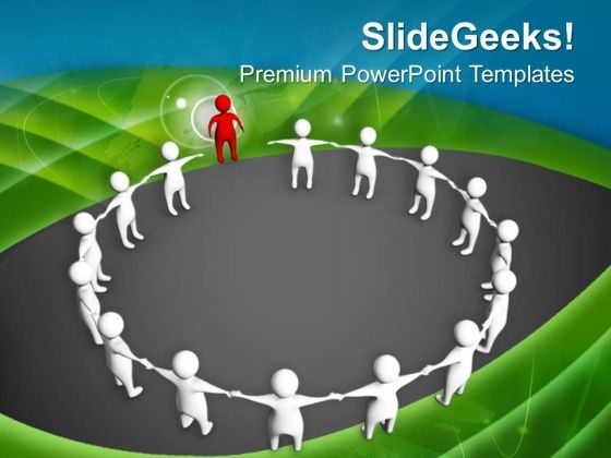 Join Your Team And Boost Their Zeal PowerPoint Templates Ppt Backgrounds For Slides 0613