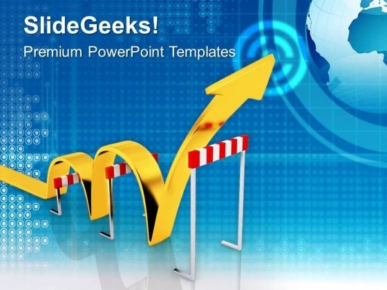 Jump The Problems For Better Business PowerPoint Templates Ppt Backgrounds For Slides 0513