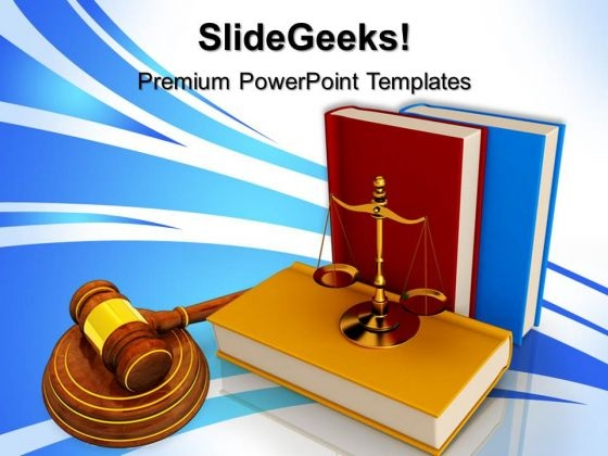 Justice Law PowerPoint Templates And PowerPoint Themes 0712