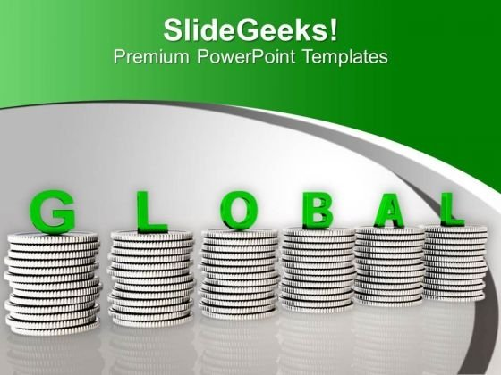 Keep Your Eye On Global Currency PowerPoint Templates Ppt Backgrounds For Slides 0513