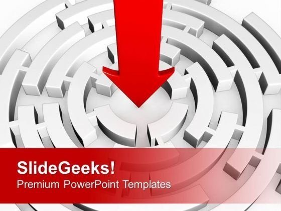 Keep Your Vision Centric In Business PowerPoint Templates Ppt Backgrounds For Slides 0613
