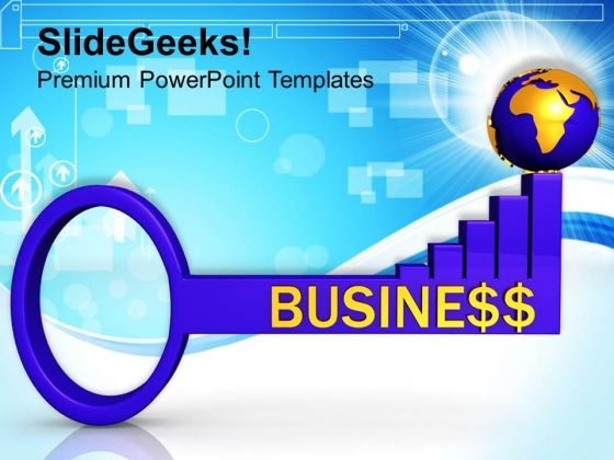 Key Factors For Global Business Strategy PowerPoint Templates Ppt Backgrounds For Slides 0213