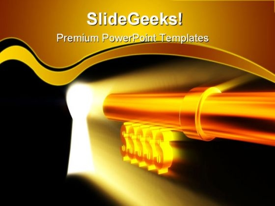 Key Light Security PowerPoint Templates And PowerPoint Backgrounds 0311