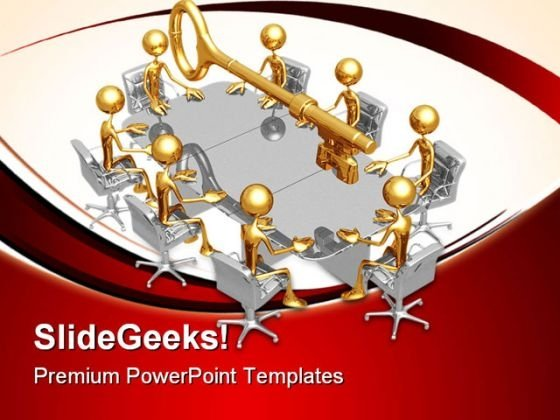 Key Meeting Business PowerPoint Themes And PowerPoint Slides 0711