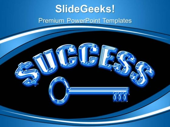 Key Success Business PowerPoint Templates And PowerPoint Themes 0512