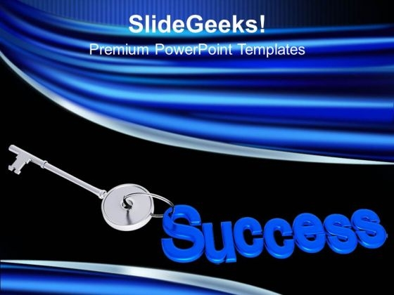 Key To Success Business Opportunities PowerPoint Templates Ppt Backgrounds For Slides 0313