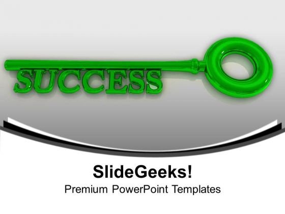 Key To Success PowerPoint Templates Ppt Backgrounds For Slides 1112