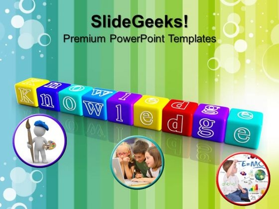 Knowledge Blocks Future PowerPoint Templates And PowerPoint Themes 0912