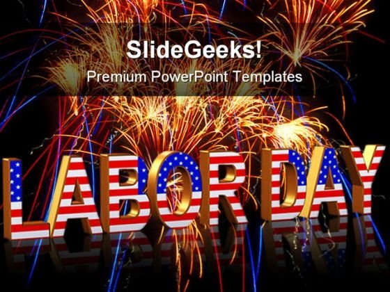 Labor Day Americana PowerPoint Templates And PowerPoint Backgrounds 0111