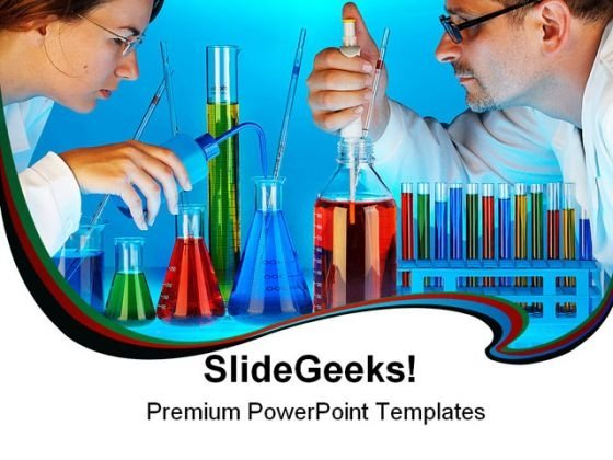 Laboratory Science PowerPoint Backgrounds And Templates 1210