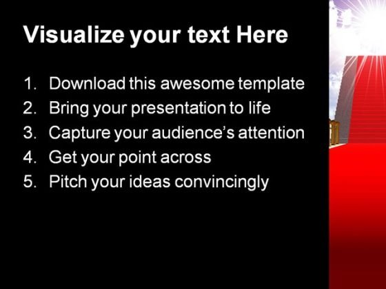 ladder_with_red_carpet_future_powerpoint_template_1110_text