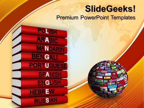 Languages Of The World PowerPoint Templates And PowerPoint Themes 1012
